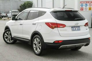 2013 Hyundai Santa Fe DM MY13 Highlander White 6 Speed Sports Automatic Wagon.