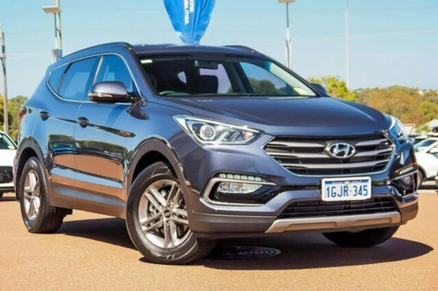Used Hyundai Santa Fe DM4 MY18 Active Albion, 2017 Hyundai Santa Fe DM4 MY18 Active Blue 6 Speed Sports Automatic Wagon