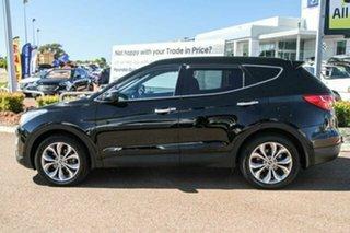 2013 Hyundai Santa Fe DM MY13 Highlander Black 6 Speed Sports Automatic Wagon.