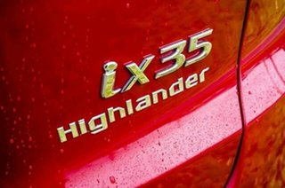 2011 Hyundai ix35 LM MY12 Highlander AWD Red 6 Speed Sports Automatic Wagon