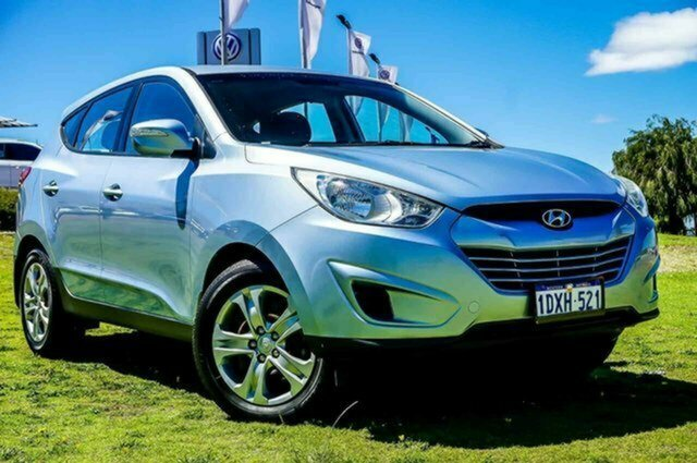 Used Hyundai ix35 LM MY12 Active Albion, 2012 Hyundai ix35 LM MY12 Active Blue 6 Speed Sports Automatic Wagon