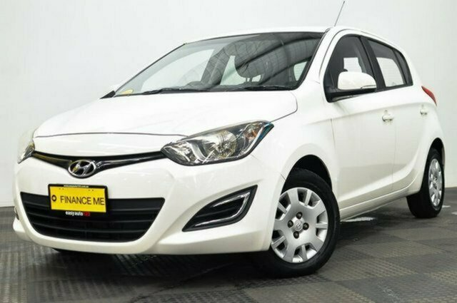 Used Hyundai i20 PB MY12 Active Albion, 2012 Hyundai i20 PB MY12 Active White 4 Speed Automatic Hatchback