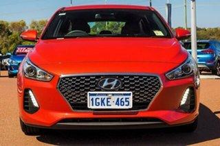 2017 Hyundai i30 PD MY18 SR D-CT Orange 7 Speed Sports Automatic Dual Clutch Hatchback.