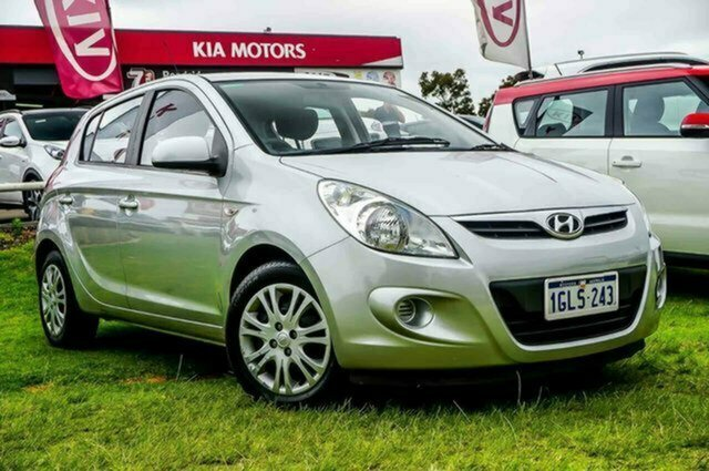 Used Hyundai i20 PB MY11 Active Albion, 2011 Hyundai i20 PB MY11 Active Silver 4 Speed Automatic Hatchback