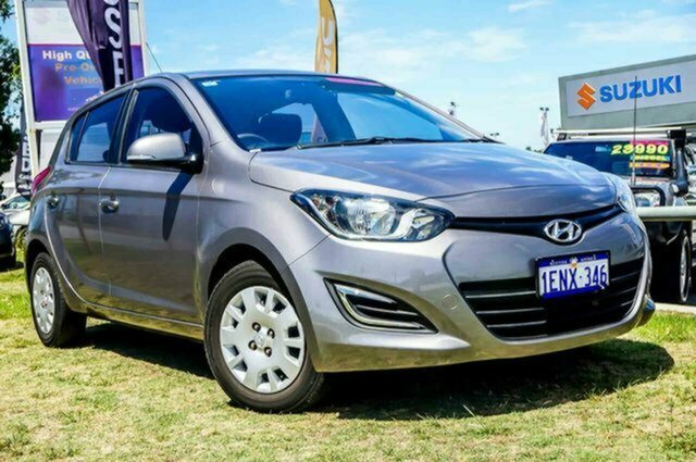 Used Hyundai i20 PB MY15 Active Albion, 2014 Hyundai i20 PB MY15 Active Grey 4 Speed Automatic Hatchback