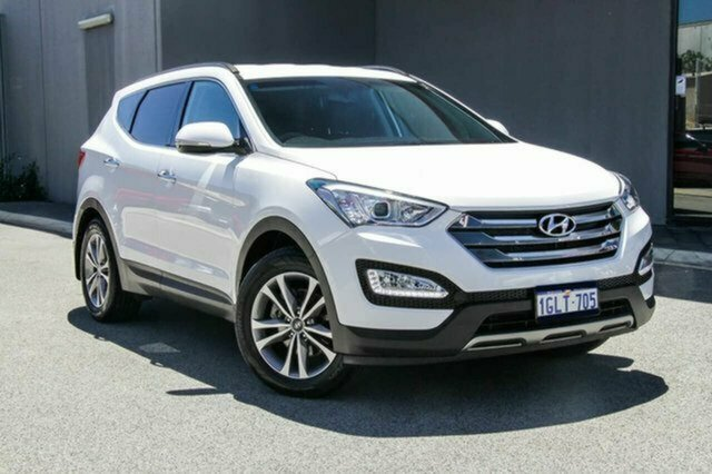 Used Hyundai Santa Fe DM2 MY15 Elite Albion, 2015 Hyundai Santa Fe DM2 MY15 Elite White 6 Speed Sports Automatic Wagon