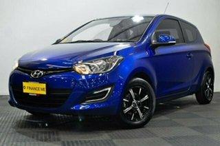 2013 Hyundai i20 PB MY14 Active Blue 6 Speed Manual Hatchback.