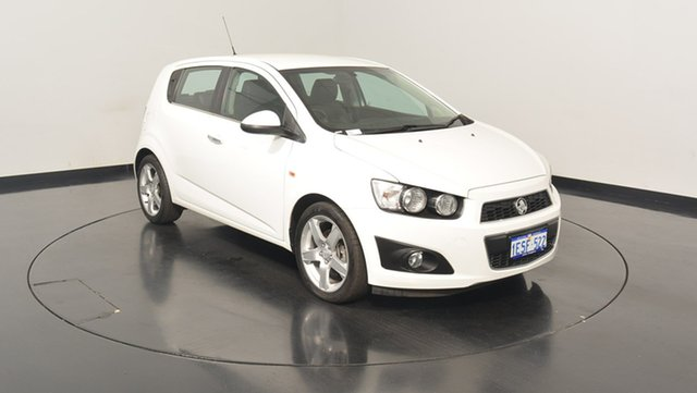 Used Holden Barina TM MY16 CDX, 2015 Holden Barina TM MY16 CDX White 6 Speed Automatic Hatchback