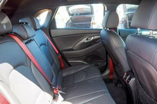 2017 Hyundai i30 PD MY18 SR D-CT Orange 7 Speed Sports Automatic Dual Clutch Hatchback