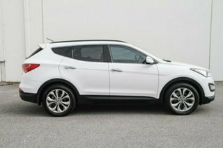 2013 Hyundai Santa Fe DM MY13 Highlander White 6 Speed Sports Automatic Wagon
