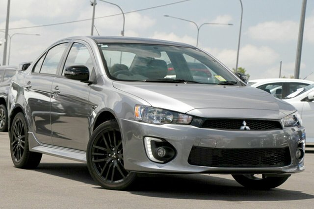New Mitsubishi Lancer CF MY17 Black Edition, 2017 Mitsubishi Lancer CF MY17 Black Edition Titanium 6 Speed Constant Variable Sedan