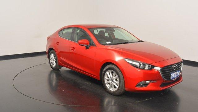 Used Mazda 3 BN5278 Maxx SKYACTIV-Drive, 2017 Mazda 3 BN5278 Maxx SKYACTIV-Drive Red 6 Speed Sports Automatic Sedan