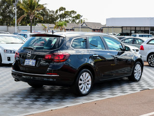 2013 Opel Astra AS Select Sports Tourer Carbon Flash Black 6 Speed Sports Automatic Wagon