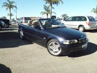 2001 BMW 320Ci E46 MY2002 Steptronic Blue 5 Speed Sports Automatic Coupe.