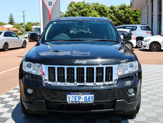 2013 Jeep Grand Cherokee WK MY2013 Laredo Black/Grey 5 Speed Sports Automatic Wagon.
