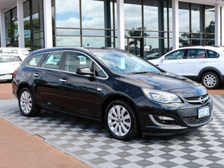 2013 Opel Astra AS Select Sports Tourer Carbon Flash Black 6 Speed Sports Automatic Wagon.