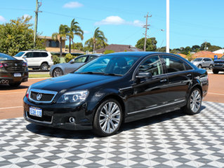 2013 Holden Caprice WN MY14 V Black 6 Speed Sports Automatic Sedan.