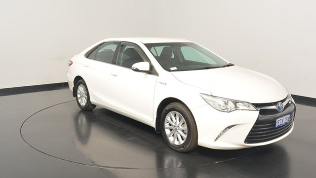 Used Toyota Camry AVV50R Altise, 2016 Toyota Camry AVV50R Altise White 1 Speed Constant Variable Sedan