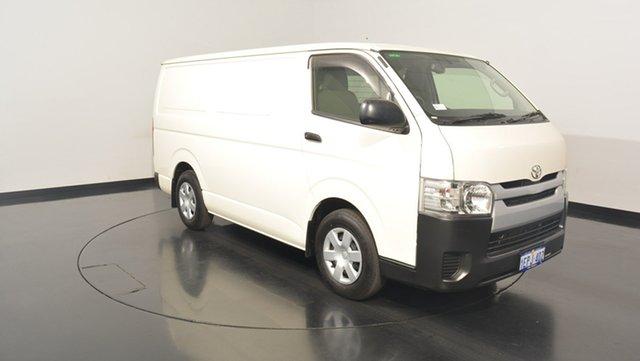Used Toyota Hiace KDH201R MY14 LWB, 2014 Toyota Hiace KDH201R MY14 LWB White 4 Speed Automatic Van