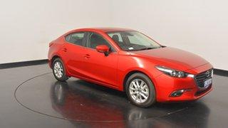 2017 Mazda 3 BN5278 Maxx SKYACTIV-Drive Red 6 Speed Sports Automatic Sedan