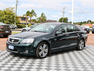 2013 Holden Caprice WN MY14 V Green 6 Speed Sports Automatic Sedan.