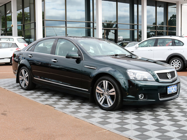 Used Holden Caprice WN MY14 V, 2013 Holden Caprice WN MY14 V Green 6 Speed Sports Automatic Sedan