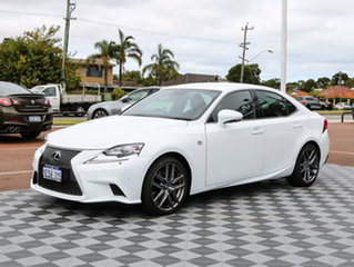 2014 Lexus IS350 GSE31R F Sport White 8 Speed Sports Automatic Sedan