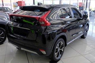 2020 Mitsubishi Eclipse Cross YA MY20 LS 2WD Black 8 Speed Constant Variable Wagon.