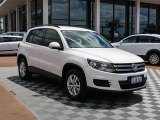 2013 Volkswagen Tiguan 5N MY14 118TSI DSG 2WD White 6 Speed Sports Automatic Dual Clutch Wagon.