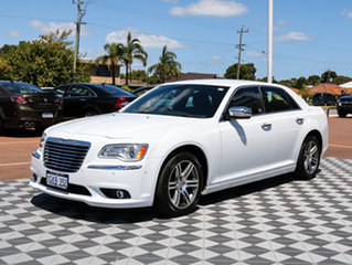2012 Chrysler 300 LX MY12 Limited White 5 Speed Sports Automatic Sedan.