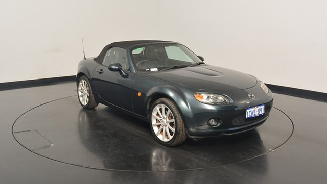 Used Mazda MX-5 NC30F1 , 2005 Mazda MX-5 NC30F1 Green 6 Speed Manual Softtop