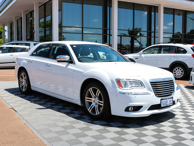 Used Chrysler 300 LX MY12 Limited, 2012 Chrysler 300 LX MY12 Limited White 5 Speed Sports Automatic Sedan
