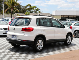 2013 Volkswagen Tiguan 5N MY14 118TSI DSG 2WD White 6 Speed Sports Automatic Dual Clutch Wagon