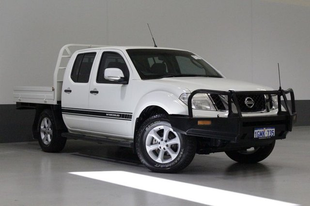 Used Nissan Navara D40 MY12 ST (4x4), 2012 Nissan Navara D40 MY12 ST (4x4) White 6 Speed Manual Dual Cab Pick-up