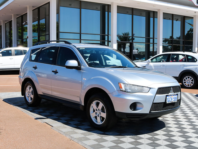 Used Mitsubishi Outlander ZH MY11 LS 2WD, 2011 Mitsubishi Outlander ZH MY11 LS 2WD Silver 6 Speed Constant Variable Wagon