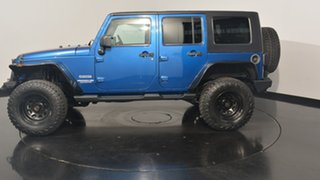 2010 Jeep Wrangler JK MY2010 Unlimited Sport Blue 4 Speed Automatic Softtop.