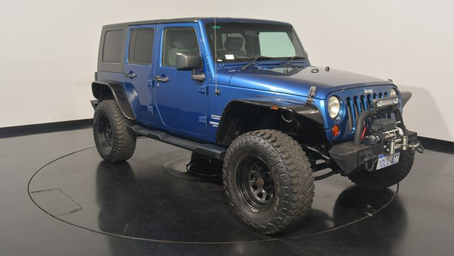 Used Jeep Wrangler JK MY2010 Unlimited Sport, 2010 Jeep Wrangler JK MY2010 Unlimited Sport Blue 4 Speed Automatic Softtop