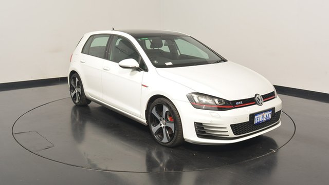 Used Volkswagen Golf VII MY15 GTI DSG, 2014 Volkswagen Golf VII MY15 GTI DSG White 6 Speed Sports Automatic Dual Clutch Hatchback