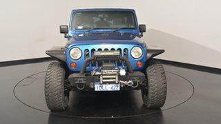 2010 Jeep Wrangler JK MY2010 Unlimited Sport Blue 4 Speed Automatic Softtop