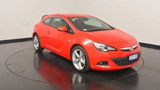 2015 Holden Astra PJ MY16 GTC Sport Red 6 Speed Automatic Hatchback.
