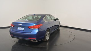 2016 Hyundai Genesis DH Blue 8 Speed Sports Automatic Sedan