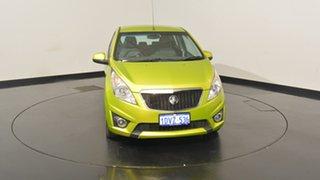2011 Holden Barina TK MY11 Green 5 Speed Manual Hatchback