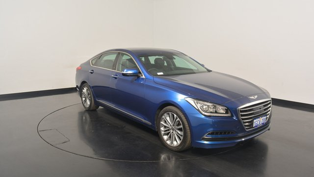 Used Hyundai Genesis DH , 2016 Hyundai Genesis DH Blue 8 Speed Sports Automatic Sedan
