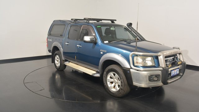 Used Ford Ranger PJ XLT Super Cab, 2007 Ford Ranger PJ XLT Super Cab Blue 5 Speed Automatic Utility