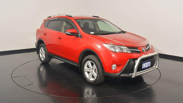 Used Toyota RAV4 ASA44R MY14 GXL AWD, 2013 Toyota RAV4 ASA44R MY14 GXL AWD Burgundy 6 Speed Sports Automatic Wagon