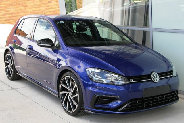 New Volkswagen Golf 7.5 MY19.5 R DSG 4MOTION, 2019 Volkswagen Golf 7.5 MY19.5 R DSG 4MOTION Lapiz Blue 7 Speed Sports Automatic Dual Clutch