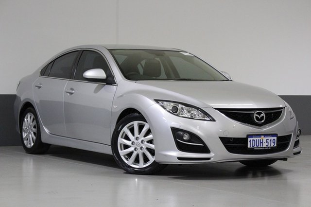 Used Mazda 6 GH MY10 Luxury, 2011 Mazda 6 GH MY10 Luxury Silver 5 Speed Auto Activematic Sedan