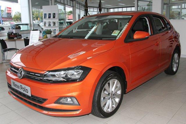 New Volkswagen Polo AW MY18 Launch Edition DSG, 2018 Volkswagen Polo AW MY18 Launch Edition DSG Energetic Orange 7 Speed