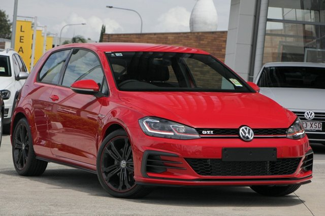 New Volkswagen Golf 7.5 MY19.5 GTI DSG, 2019 Volkswagen Golf 7.5 MY19.5 GTI DSG Tornado Red 7 Speed Sports Automatic Dual Clutch Hatchback