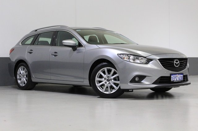 Used Mazda 6 6C MY14 Upgrade Touring, 2014 Mazda 6 6C MY14 Upgrade Touring Grey 6 Speed Automatic Wagon